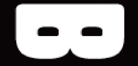 Logo Badaran que hablar blanco